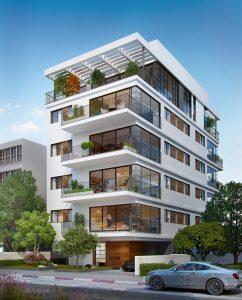 פרוייקטים חדשים בתל אביב