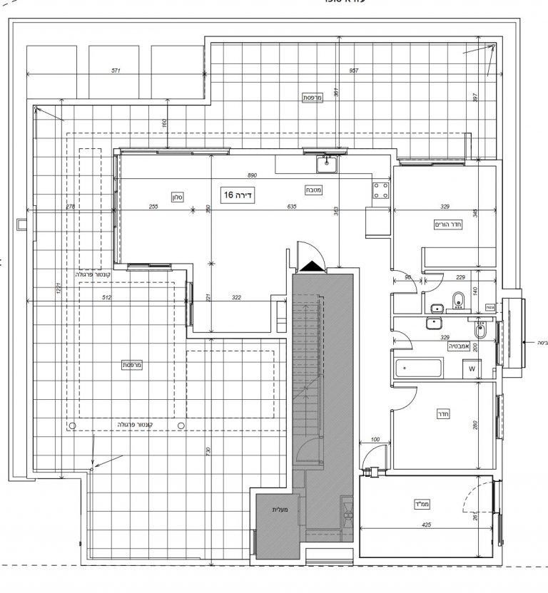 תוכנית הדירה