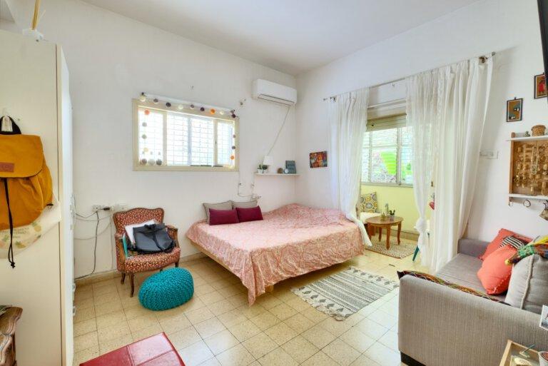 חדר השינה בדירה