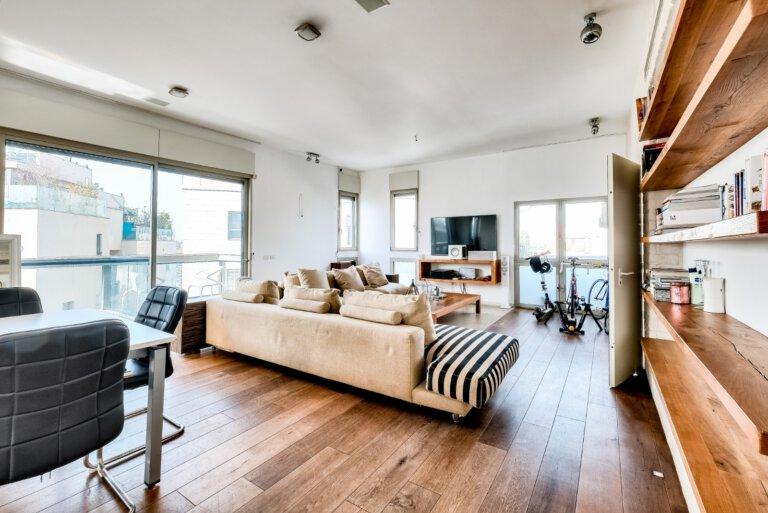 סלון הדירה