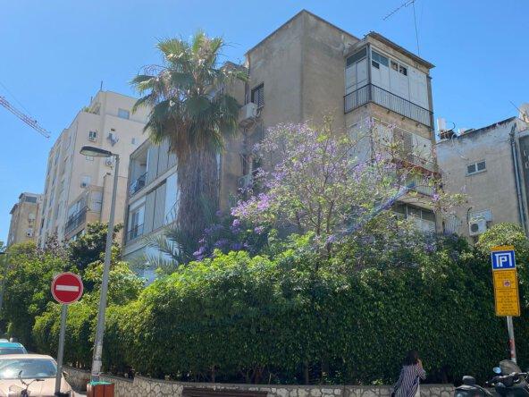 הבניין ברח' דוד ילין