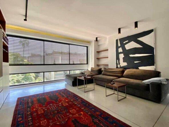 הסלון בדירה למכירה