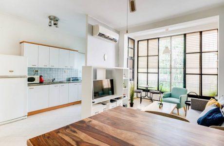 נמכר! דירת 2 חדרים תל אביבית בצפון הישן ברח' הבשן