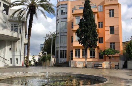 למכירה במרכז תל אביב ברח' הס  דירת 4 חד' עם מעלית וחניה בטאבו